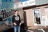 PHOTO BY RYAN WILLIAMSON - Shaina Sidoti started Effortlessly Healthy on a food truck in fall 2013. Now, she has expanded the business to a cafe and a meal delivery service.