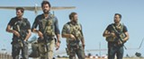 "PHOTO COURTESY PARAMOUNT PICTURES - Pablo Schreiber, John Krasinski, - David Denman, and Dominic Fumusa in ""13 Hours: - The Secret Soldiers of Benghazi."""