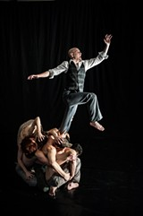 "PHOTO BY STEVE LEVINSON - PUSH Physical Theatre's production of ""Jekyll & Hyde"" - will continue at Blackfriars Theatre through Sunday, February 14."