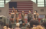 "PHOTO COURTESY LIONSGATE - In Spike Lee's ""Chi-Raq,"" an - adaptation of Aristophanes' ""Lysistrata,"" women of - Chicago's south side withhold sex from their partners until the violence stops."