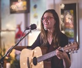 """PHOTO BY AARON WINTERS - Susanna Rose has stripped down her sound to just a beautiful voice and plaintive guitar weaving. She has three albums out, the latest is called """"Snowbound."""""""
