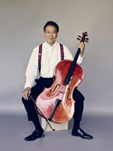 PHOTO BY JASON BELL - Yo-Yo Ma will perform with the Rochester Philharmonic Orchestra on December 6