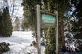 PHOTO BY MARK CHAMBERLIN - Shadow Pines golf course in Penfield is up for sale.
