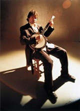 PHOTO PROVIDED - Bela Fleck will perform with the Eastman Wind Ensemble on Friday, February 26.