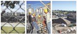 FILE PHOTOS - Examples of projects that could get URI money: high-tech manufacturing at Eastman Business Park (left), an eco-brewing district anchored by the - Genesee Brewery (center), and the redevelopment of the Inner Loop.