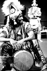 "PROVIDED PHOTO - Kerfala ""Fana"" Bangoura of the Mounafanyi Percussion and Dance Ensemble."