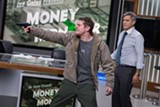 "PHOTO COURTESY SONY PICTURES - George Clooney and Jack O'Connell in ""Money Monster."""