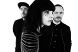 PHOTO BY DANNY CLINCH - Synth-pop trio Chvrches will perform at CMAC with Death Cab for Cutie on Wednesday, June 8.