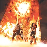 PHOTO PROVIDED - Legendary rock group KISS is performing at the Blue Cross Arena on Monday, August 29.