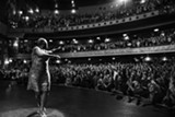 "PHOTO COURTESY STARZ - Soul singer Sharon Jones works the crowd in ""Miss Sharon - Jones!"""