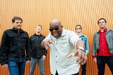 PHOTO BY DREW REYNOLDS - Barrence Whitfield and the Savages.