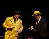 "PHOTO BY JOSH SAUNDERS - ""Flatfoots, Floozies & Murder"" was performed at SOTA's black box theater on Saturday."