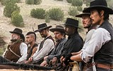 "PHOTO COURTESY SONY PICTURES - The magnificent seven in ""The Magnificent - Seven."""