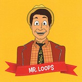 ILLUSTRATION BY JOHNNY MCHONE - Jon Lewis created his Mr. Loops persona as an act for kids, but parents will find a lot to like, too.