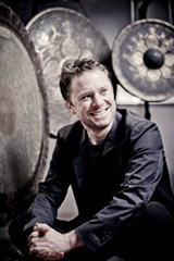 PHOTO PROVIDED - Percussionist Colin Currie.