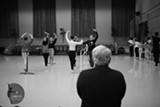 "PHOTO COURETESY JONATHAN QUINONES - Flower City Ballet founder Wayne Blatt (pictured here as he instructs students) has willed the school to Erika Ruegemer, who is helping see FCB through its 11th season of ""The Nutcracker."""