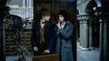 "PHOTO COURTESY WARNER BROS. - Eddie Redmayne and Katherine Waterston in ""Fantastic Beasts - and Where to Find Them."""