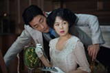 "PHOTO COURTESY MAGNOLIA PICTURES - Ha Jung-woo and Kim Min-hee in - ""The Handmaiden."""