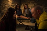 "PHOTO COURTESY UNIVERSAL PICTURES - Anya Taylor-Joy and James McAvoy in ""Split."""