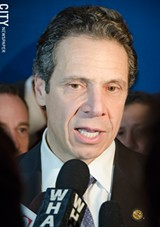 FILE PHOTO - NYS Governor Andrew Cuomo.