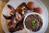 PHOTO BY KEVIN FULLER - RYCE is serving a fusion of Caribbean cuisine and soul food with dishes like jerk chicken with Jamaican sweet dumplings.