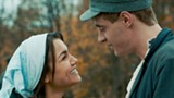 """PHOTO COURTESY ROADSIDE ATTRACTIONS - Max Irons and Samantha Barks in """"Bitter Harvest."""""""