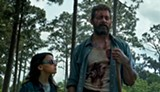 "PHOTO COURTESY 20TH CENTURY FOX - Dafne Keen and Hugh Jackman in - ""Logan."""