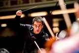 PHOTO BY SUZY GORMAN - Ward Stare conducts the Rochester Philharmonic Orchestra.