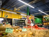 PHOTO BY KEVIN FULLER - Abundance Food Co-op last Saturday opened its new space on South Avenue. The new, larger space has a cafe, hot food bar, and community room, and will host cooking classes.