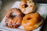 PHOTO BY KEVIN FULLER - Misfit Doughnuts and Treats opened on Monroe Avenue in early May. The bakery is making vegan doughnuts and desserts.