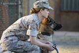 "PHOTO COURTESY BLEECKER STREET - Kate Mara and friend in ""Megan Leavey."""