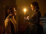 "PHOTO COURTESY FOX SEARCHLIGHT - Sam Claflin and Rachel Weisz in ""My - Cousin Rachel."""