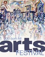 PHOTO COURTESY CORN HILL ARTS FESTIVAL - The Corn Hill Arts Festival released its 2017 poster, created by Rochester artist Ryan Martin
