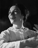 "PHOTO PROVIDED - Vicki Casarett as Emily - Dickinson in the original 1990 run of ""The Belle of Amherst."" Casarett and the original creative team are reuniting for a - new run of the show at Cobblestone Arts Center."