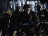 "PHOTO COURTESY TWENTIETH CENTURY FOX - Andy Serkis as ape leader, Caesar in ""War for the Planet - of the Apes."""