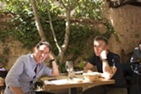 "PHOTO COURTESY IFC FILMS - Rob Brydon and Steve Coogan in ""The Trip to Spain."""