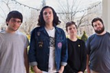 PHOTO BY ALLISON PARSSI - The unpunks of Total Yuppies: guitarist Ben Burdett; bassist JT Fitzgerald; vocalist Jake Walsh; and drummer Dylan Vaisey.