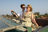 "PHOTO COURTESY BLEECKER STREET FILMS - Andrew Garfield and Claire Foy in ""Breathe."""