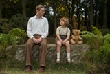 """PHOTO COURTESY FOX SEARCHLIGHT - Domhnall Gleeson and Will Tilston in """"Goodbye Christopher Robin."""""""