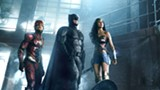 "PHOTO COURTESY WARNER BROS. - Ezra Miller, Ben Affleck, and Gal Gadot - in ""Justice League."""