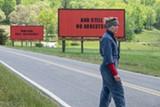 "PHOTO COURTESY FOX SEARCHLIGHT - Frances McDormand in ""Three - Billboards Outside Ebbing, Missouri."""