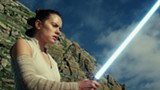 "PHOTO COURTESY WALT DISNEY PICTURES - Daisy Ridley in ""The Last Jedi."""