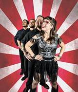 PHOTO PROVIDED - Laura Hope and her band, The Ark-Tones.