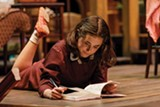"PHOTO BY GOAT FACTORY MEDIA ENTERTAINMENT - Anna Lentz as Anne Frank in Geva's production ""The Diary of Anne Frank."""