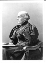 FILE PHOTO - Rochester icon Susan B. Anthony and her family came to the area as part of a wave of Quakers in the early 1800's.