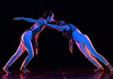 PHOTO BY JIM BUSH - Rochester's contemporary repertory dance company, BIODANCE, this week celebrates its 12th anniversary with four collaborative concerts at Geva.