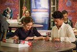 "PHOTO COURTESY SONY PICTURES CLASSICS - Kelly Macdonald and Irrfan Khan in ""Puzzle."""