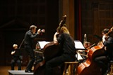 PHOTO PROVIDED - Brad Lubman conducts Musica Nova in a previous concert.