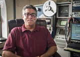 PHOTO BY RYAN WILLIAMSON - Public access station managers including East Rochester's John Schroth want Spectrum to put their stations back where they were.