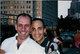 PHOTO PROVIDED - Composer Ricky Ian Gordon (left) with his late partner, Jeffrey Michael Grossi.